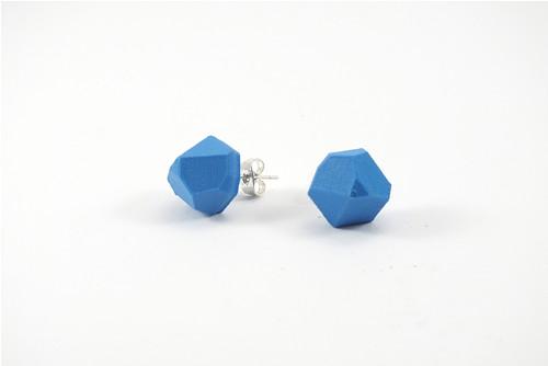 Náušnice krystal sky blue