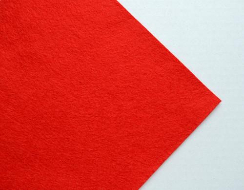 Plsť metráž tm.červená (šířka 180 cm)(barva č.16)