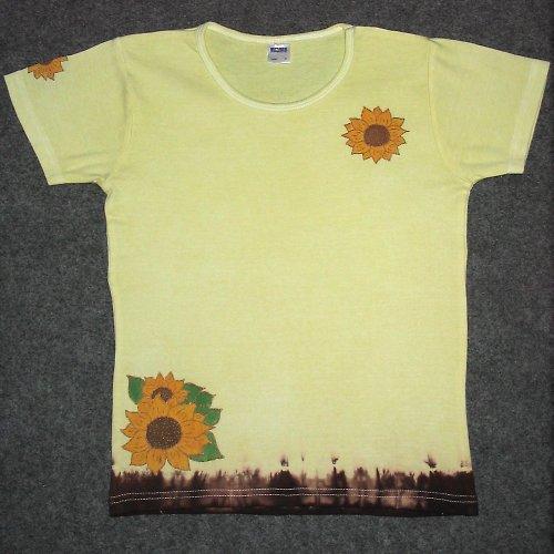 Tričko se slunečnicemi - výprodej