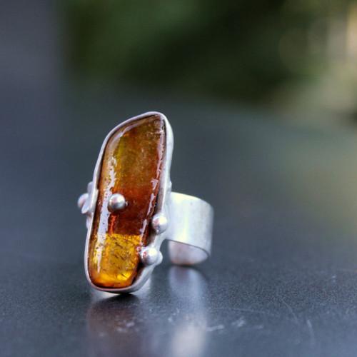 JANTAROVÉ LÉTO - prsten
