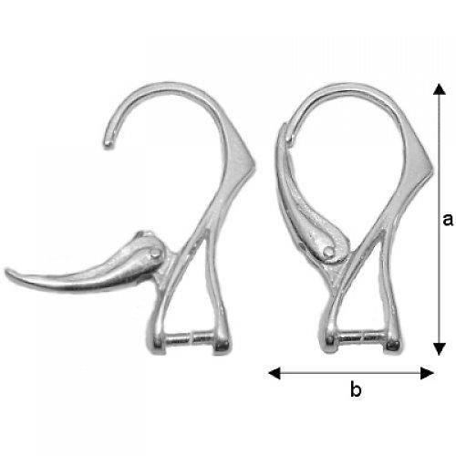 Stříbrné náušnice,Ag 925/1000