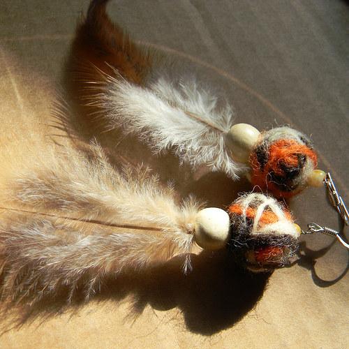 indiánské plstěnky