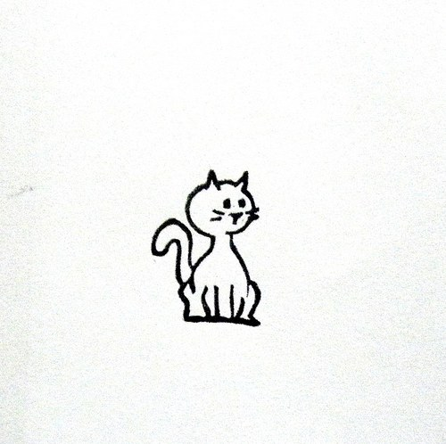 Kočička. Omyvatelné.