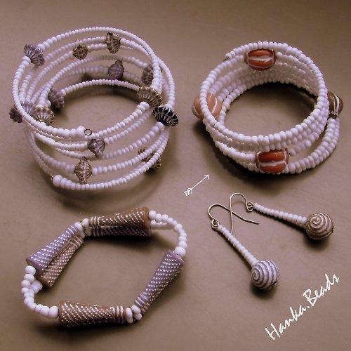 Šperky z perníkové chaloupky - náramek úzký