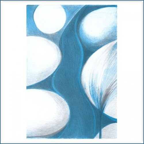 Originál litografie - PRAMEN