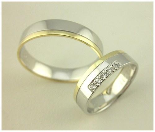 Snubní prsteny č. 33a