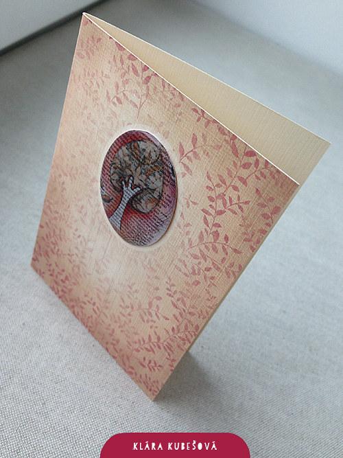 Luxury card - Podzimní strom