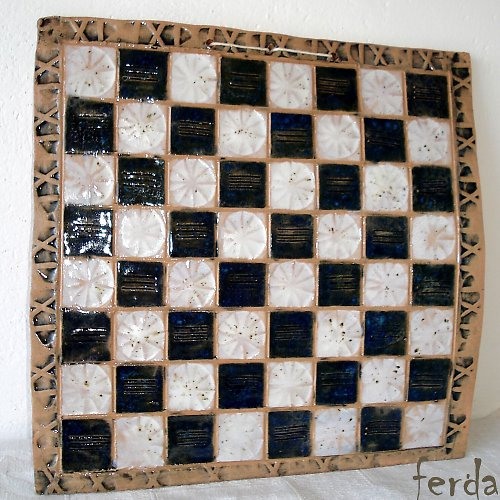 Šachování v modrobílém