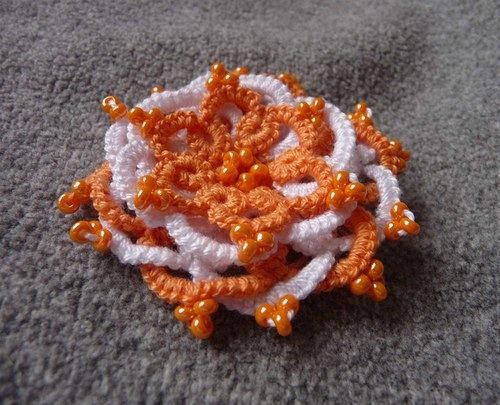 oranž kytka