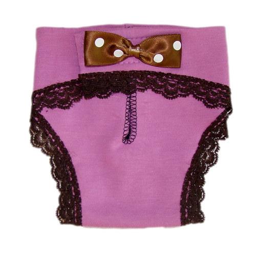 Háracie nohavičky pre fenky XS