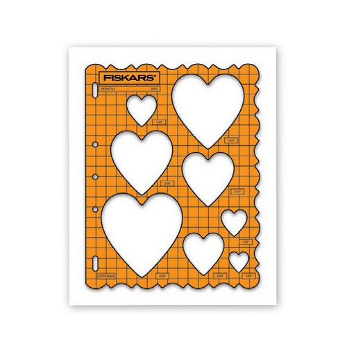 Tvarová šablona Fiskars / Srdce