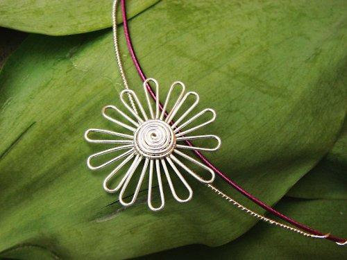 Sedmokráska, náhrdelník