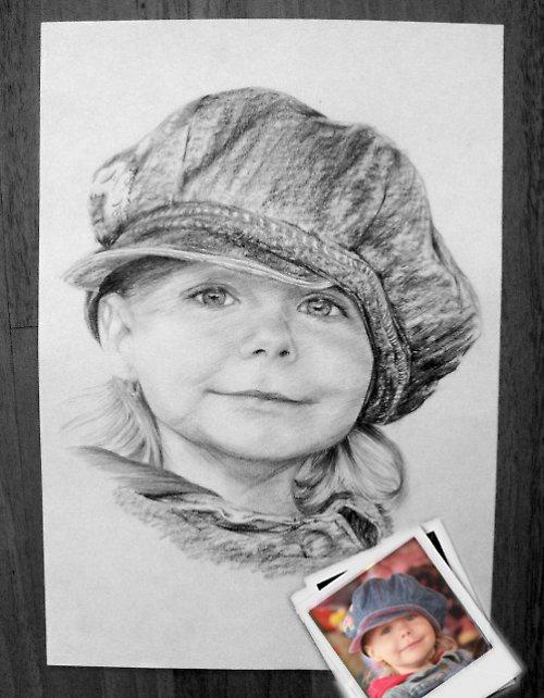 Portrét A4 jedna osoba