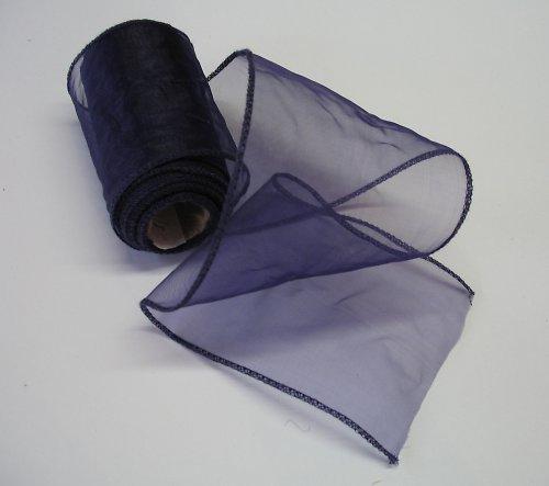 organza tmavě fialová
