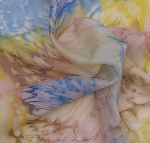 Letní šátek 55 x 55