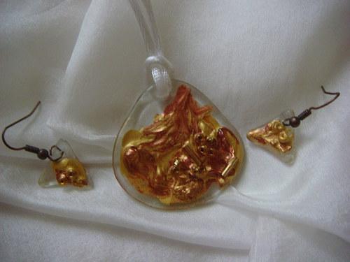 Zlatá variace - sklíčka
