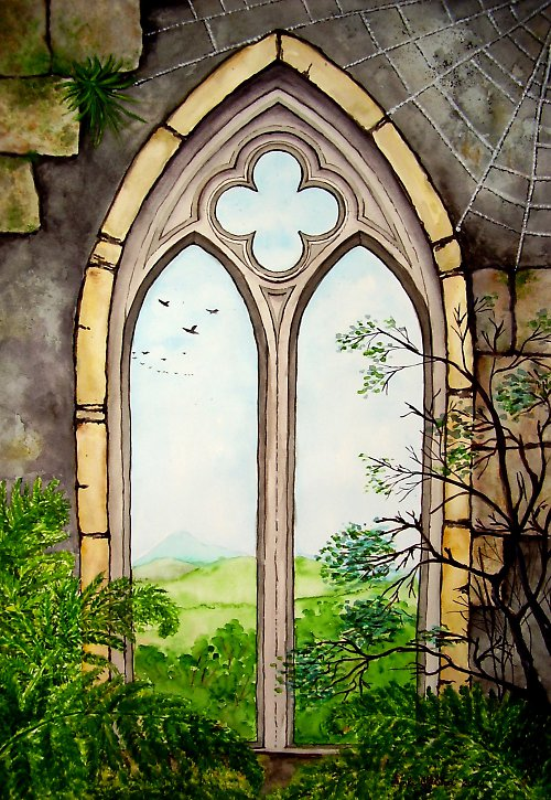 Gotické okno