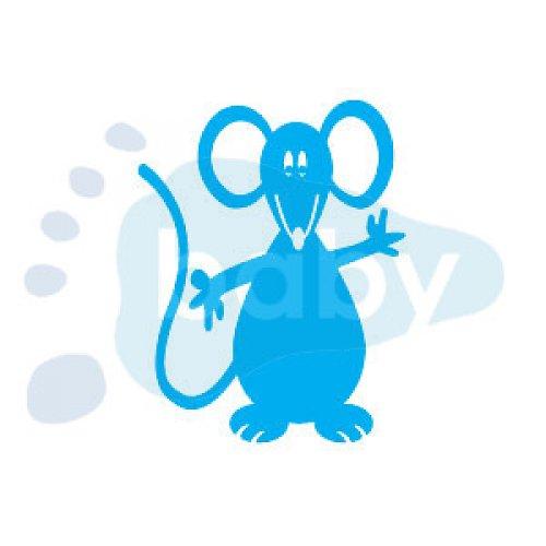 Razítko myšák 7 x 9 cm