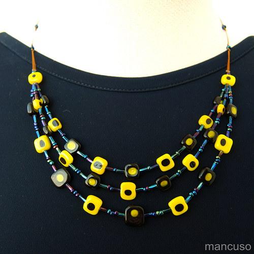 kostičkový náhrdelník IV