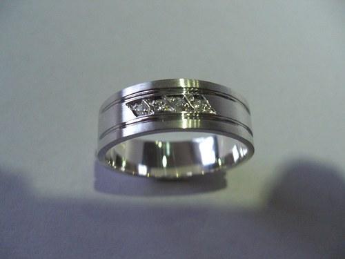 snubní prsteny M12