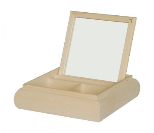 Toaletka se zrcadlem a přihrádkami DL16
