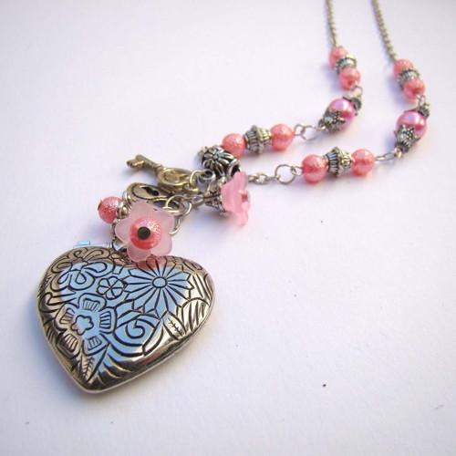 náhrdelník Klíč k srdci