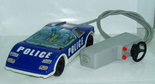 JOUSTRA - MATRA - staré plechové auto POLICIE