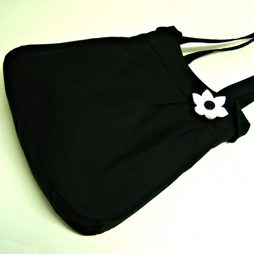 Kabelka černá Klasik - velká