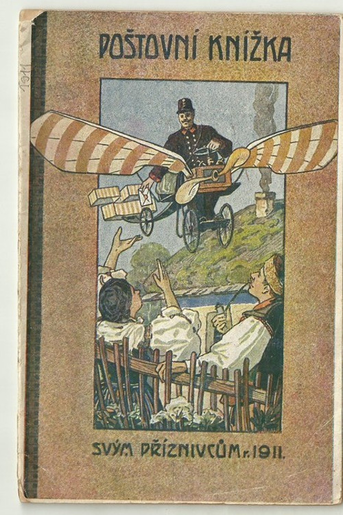 Poštovní knížka 1911