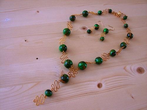 Zelenozlaté korále