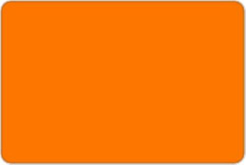 Plsť oranžová 1mm