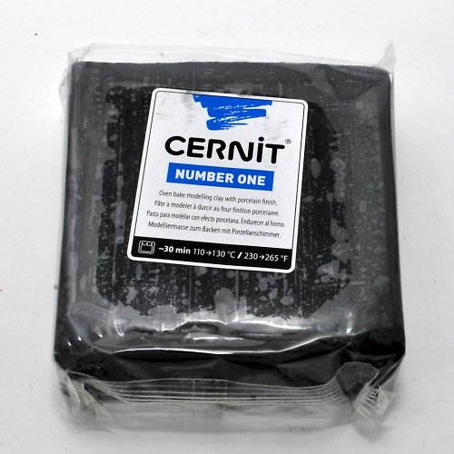 CERNIT hmota 250 g / Černá