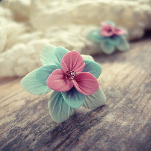 Luční kvítí (růžovo-modré)-puzety