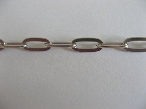Řetízek AKT 0018 platina - 50 cm