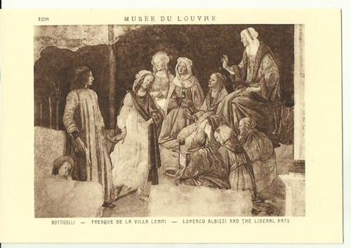 Umělecká pohlednice Botticelli
