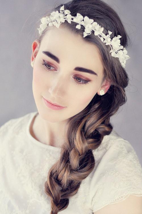 květinové věnečky do vlasů