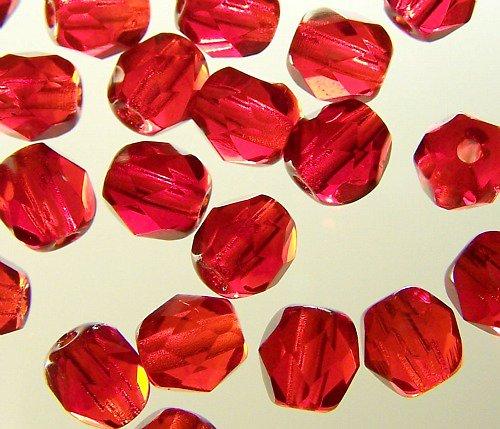 broušené korálky Jablonex