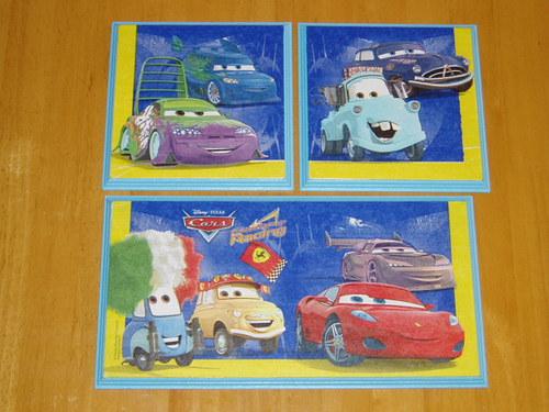 Obrázky Cars na MDF destičce