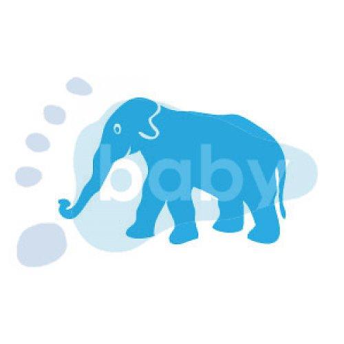Razítko slon 7 x 5 cm