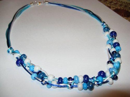 Náhrdelník modrý
