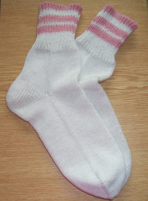 Ponožky bílé vel. 37/38