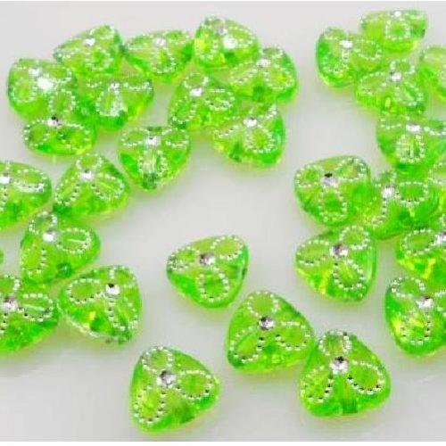 Kytičky zelené- 100ks