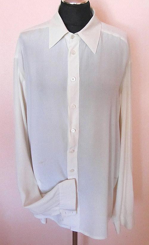Pánská hedvábná košile