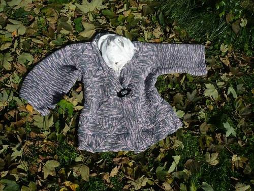 Kabátek z kostiček místo bundiček :-)