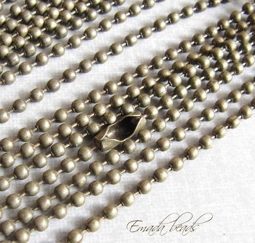 Řetízek, kuličkový 0,23 cm