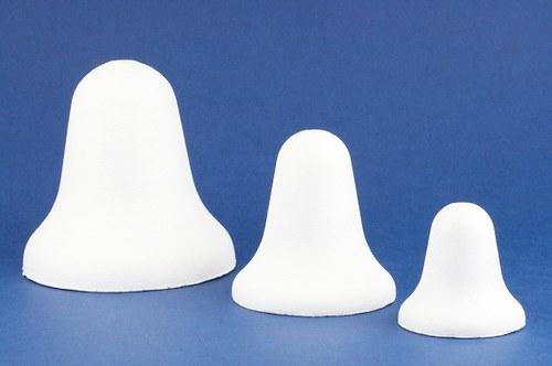 Zvoneček - polystyren, formička 12cm