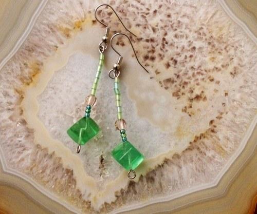 Zelené kostičky
