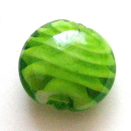 Vinutka - zelená se spirálou