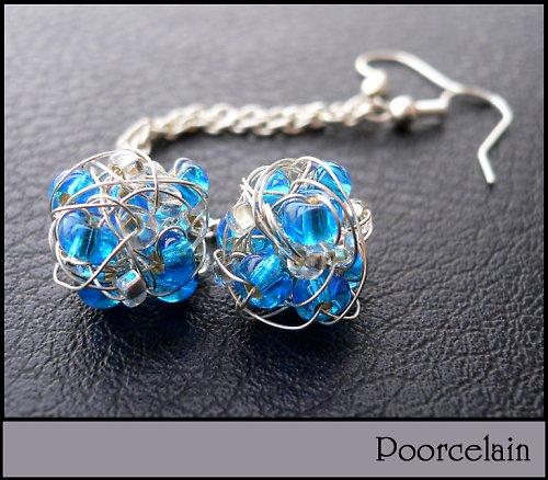 Long blue balls