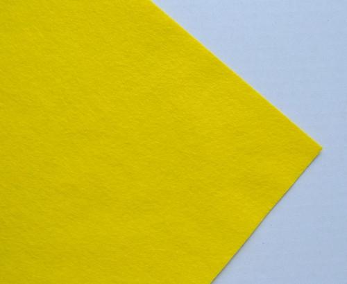 Plsť metráž žlutá (šířka 180 cm) (barva č. 5)